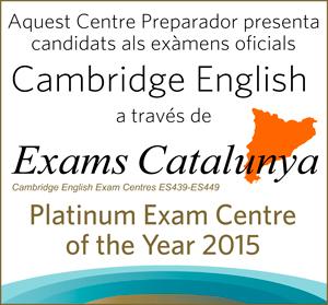 ¡Ya somos Centro Examinador y Colaborador de Exams Catalunya!